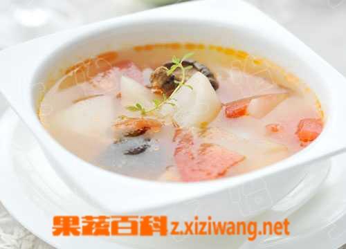 果蔬百科萝卜汤
